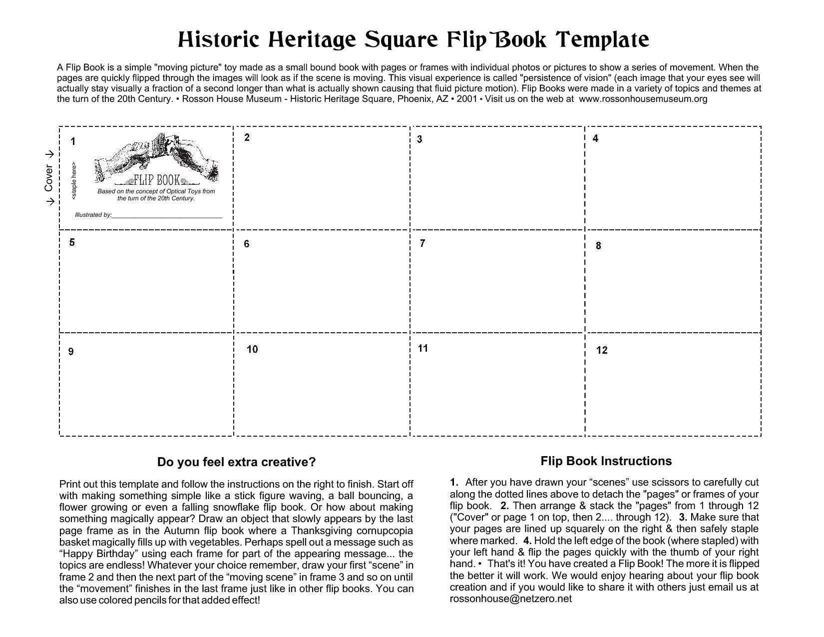 It is an image of Printable Flip Book regarding long
